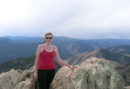 Me at the top of Grey Rock